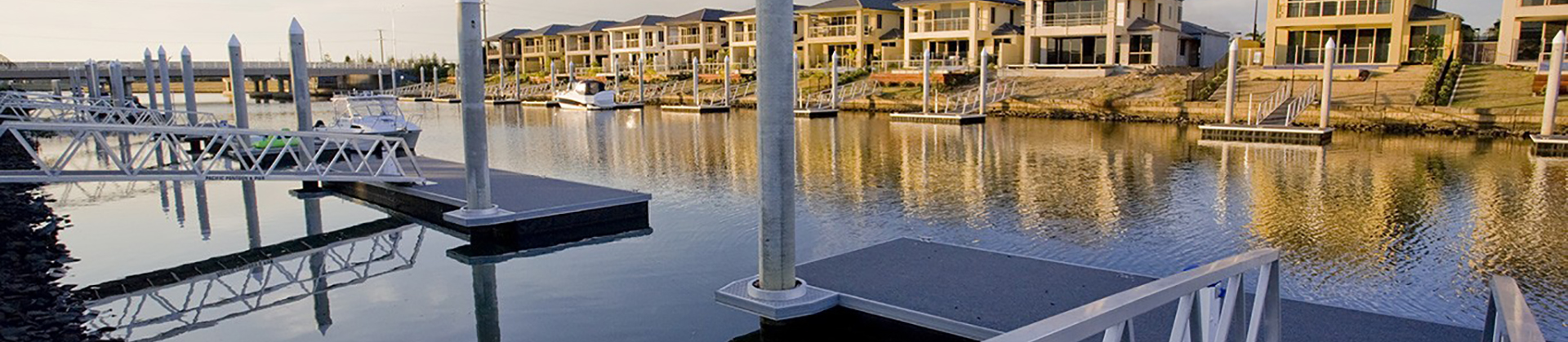 Marinas, Pontoons & Jetties